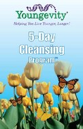 1-20693 YOUNGEVITY CLEANSE FX 1-67501 ANCIENT LEGACY COLON PLUS 1-20975 YOUNGEVITY D'TOX 1-90235 SINGLE CLEANSING PROGRAM BOOKLET